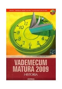 Vademecum Matura 2009 z płytą CD historia