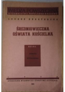 Średniowieczna oświata kościelna, 1950 r.