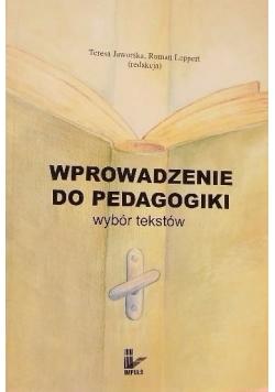 Wprowadzenie do pedagogiki