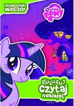 Koloruj, czytaj, naklejaj. Mój kucyk Pony