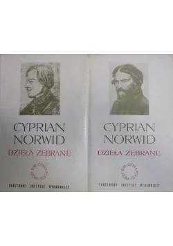 Dzieła zebrane Cyprian Norwid
