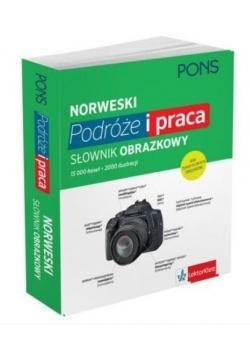 Słownik obrazkowy. Podróże i praca - Norweski