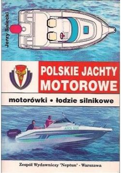 Polskie jachty motorowe