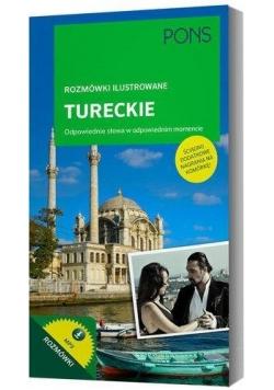 Rozmówki ilustrowane audio - tureckie PONS