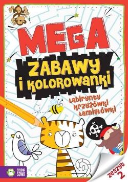 Megazabawy i kolorowanki Zeszyt 2