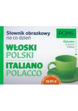 Słownik obrazkowy na co dzień. Włoski PONS