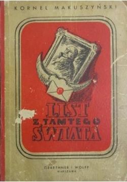 List z tamtego świata, 1949 r.