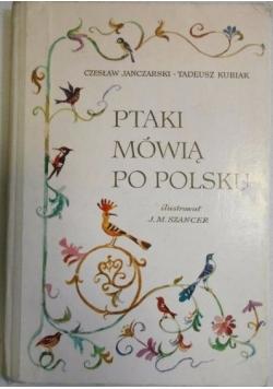 Ptaki mówią po polsku