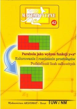 Miniatury matematyczne 42 Parabola jako wykres funkcji
