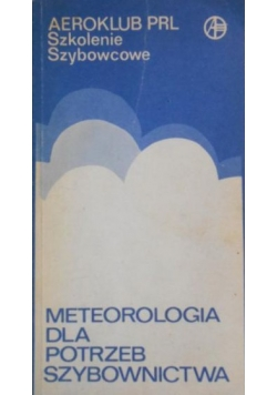 Meteorologia dla potrzeb szybownictwa