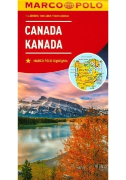 Mapa Marco Polo - Kanada 1:4 000 000 w.2017