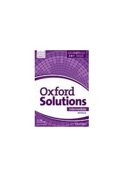 Oxford Solutions Intermediate WB+Online OXFORD