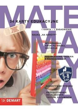 Karty edukacyjne - Matematyka