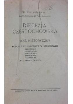 Diecezja Częstochowska, 1936 r.
