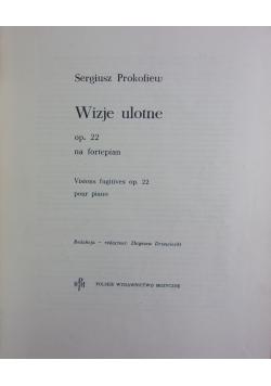 Wizje ulotne op. 22 na fortepian