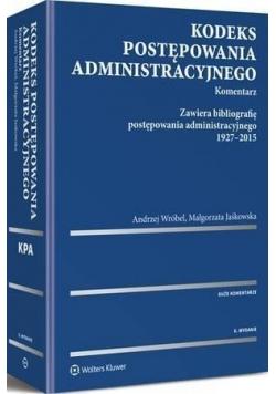 Kodeks postępowania administracyjnego. Kom. w.2016