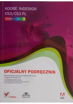 Adobe InDesign CS3/CS3 PL + płyta CD