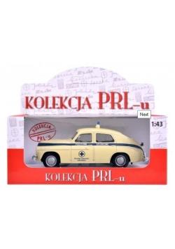 Kolekcja PRL-u Warszawa M-20 Pogotowie Ratunkowe