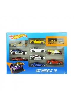 Hot Wheels Małe samochodziki 10-pak