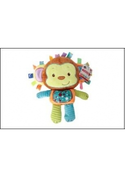 Przytulanka z dźwiękiem małpa