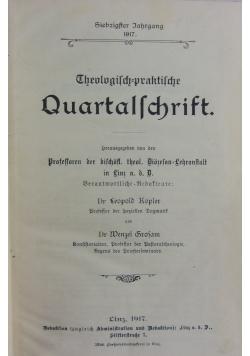 Theologisch praktische Quartalschrift , 1917 r.