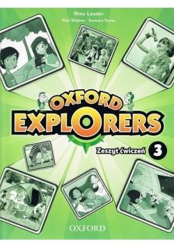 Oxford Explorers 3 WB OXFORD