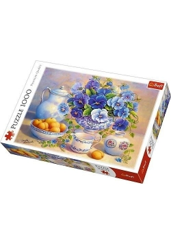 Puzzle 1000 Niebieski bukiet TREFL