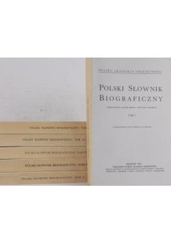 Polski słownik biograficzny , tom I-IV