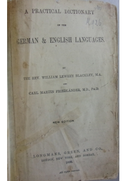 Herman & English Languages, 1896 r.