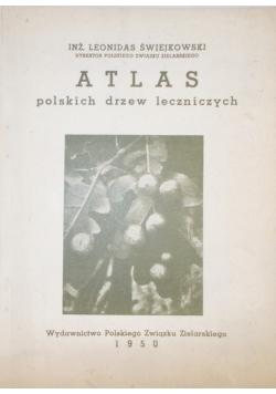 Atlas polskich drzew leczniczych 1950r.
