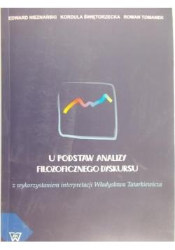 U podstaw analizy filozoficznego dyskursu z wykorzystaniem interpretacji Władysława Tatarkiewicza
