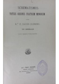 Schematismus ,1903r.