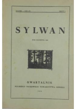 Sylwan Zeszyt 1/1950r.
