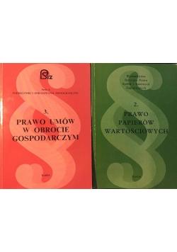Prawo umów o obrocie gospodarczym/Prawo papierów wartościowych