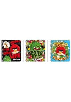 Kołonotatnik Angry Birds (10szt) DERFORM