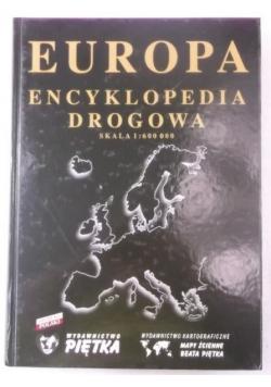 Europa. Encyklopedia drogowa. Skala 1:600 000