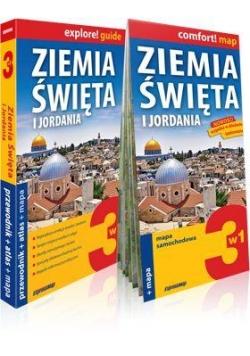 Explore!guide Ziemia Święta i Jordania 3w1 laminat