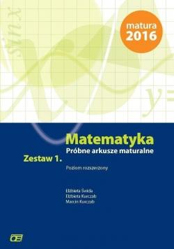 Matematyka LO Próbne arkusze mat. z.1 ZR w.2015 OE