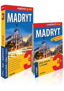 Explore! guide Madryt (przewodnik + atlas + mapa)
