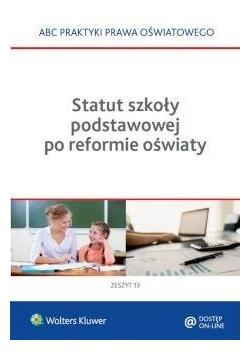 Statut szkoły podstawowej po reformie oświaty