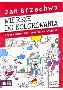 Kolorowanka - harmonijka. Jan Brzechwa