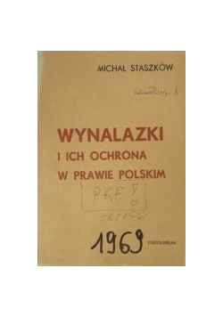 Wynalazki i ich ochrona w prawie polskim