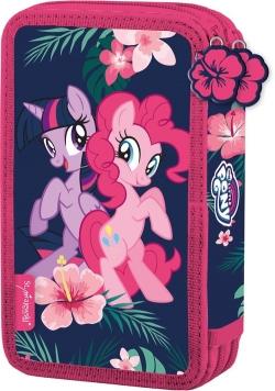 Piórnik podwójny z wyposażeniem My Little Pony Friendship Forever