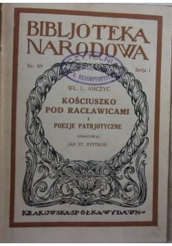 Kościuszko pod racławicami i poezje patrjotyczne, 1924 r.