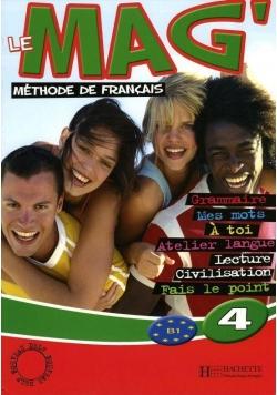 Le Mag' 4 podręcznik HACHETTE