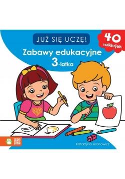 Już sie uczę. Zabawy edukacyjne 3-latka