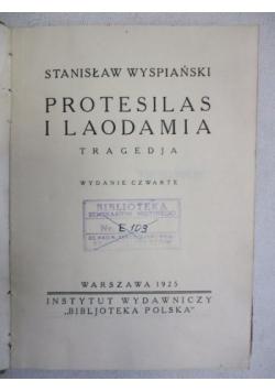 Protesilas i Laodamia, 1925 r.