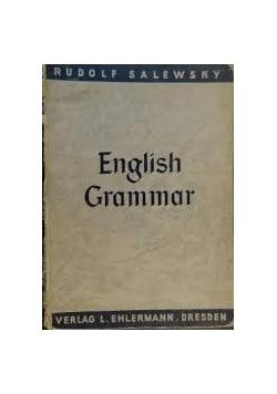 English Grammar, 1939 r.