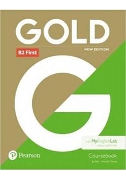 Gold B2 First 2018 CB + MyEnglishLab PEARSON