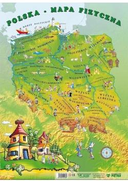 Puzzle - Polska mapa fizyczna